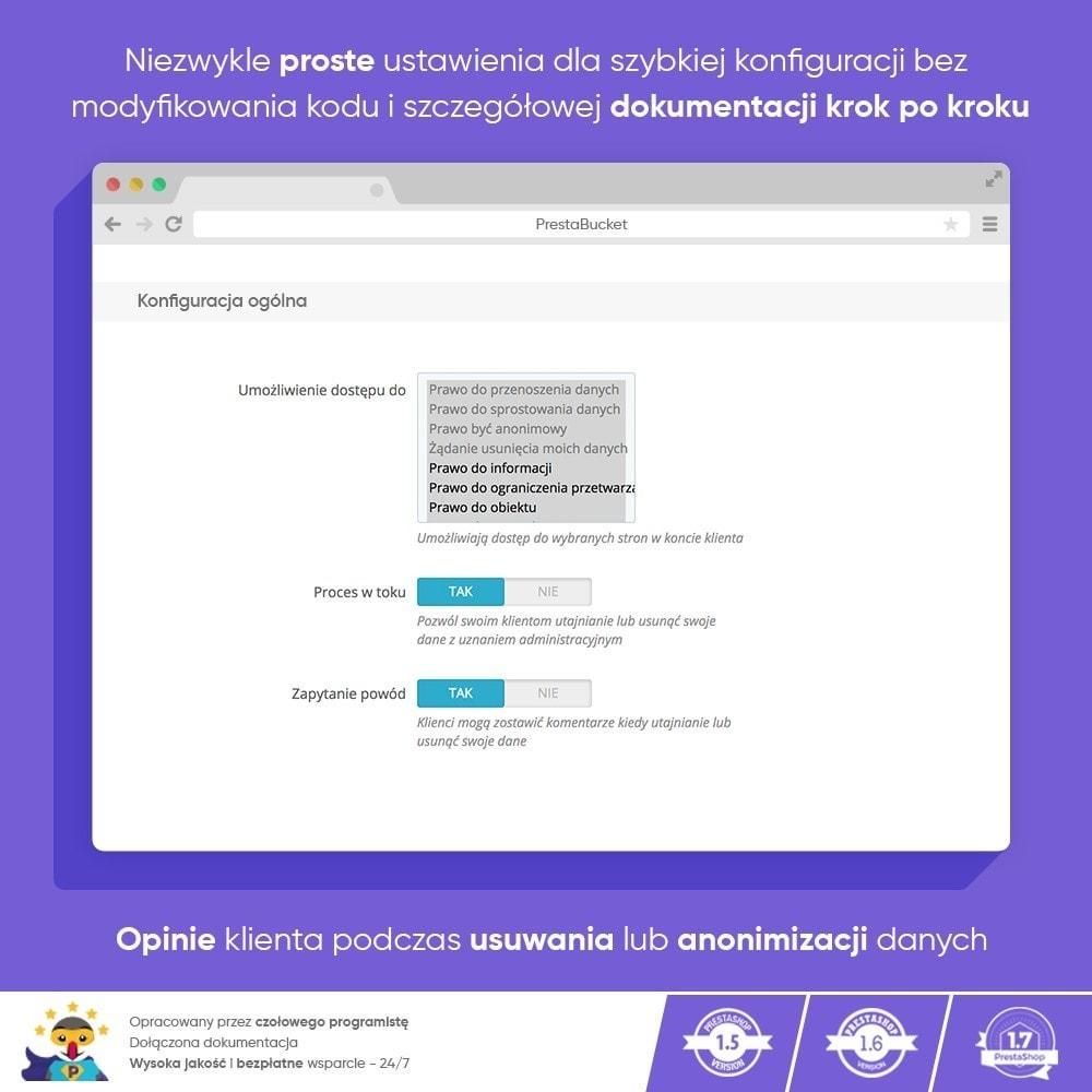 module - Wzmianki prawne - RODO ZAWODOWIEC Ogólne Rozporządzenie o ochronie Danych - 3