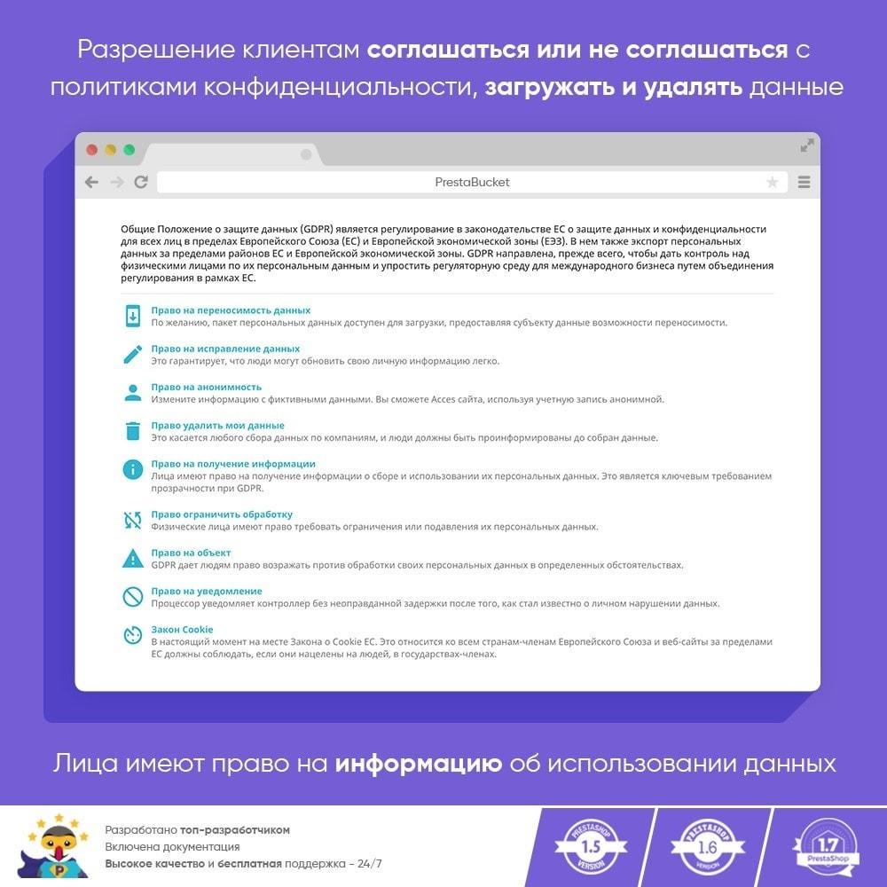 module - Администрация - RGPD - Общий регламент по защите персональных данных - 12