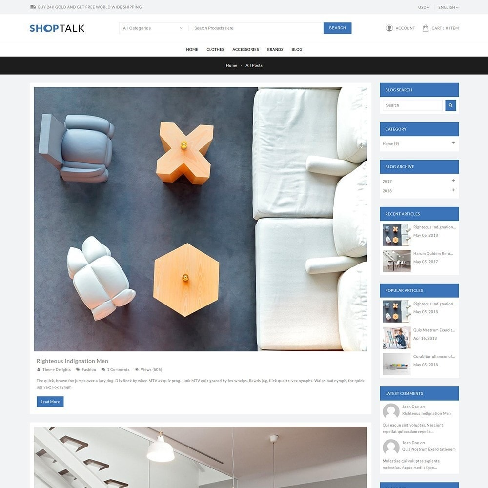 theme - Hogar y Jardín - ShopTalk Furniture Store - 9