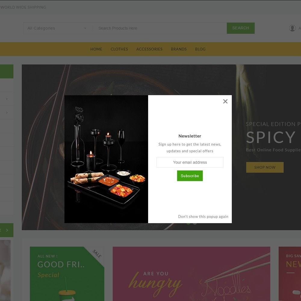 theme - Food & Restaurant - ShopTalk Food Store - 10