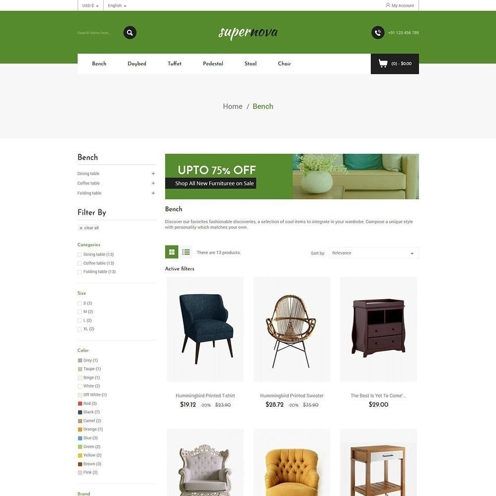 theme - Casa & Giardino - Super Nova - Negozio di mobili - 3