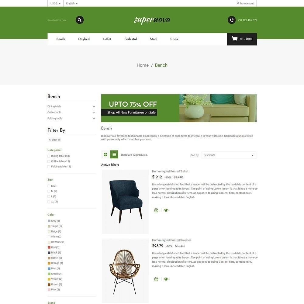theme - Casa & Giardino - Super Nova - Negozio di mobili - 5
