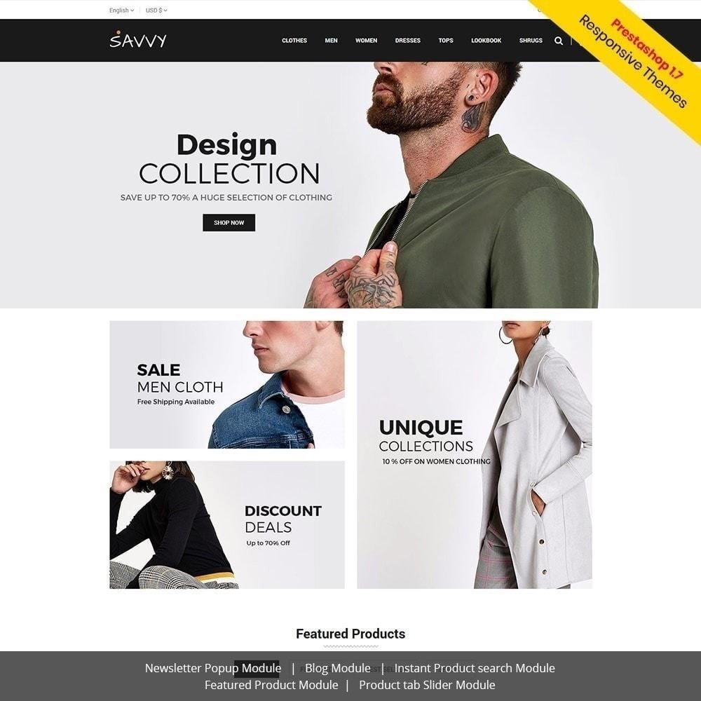 theme - Moda y Calzado - Savvy Designer - Tienda de moda - 2