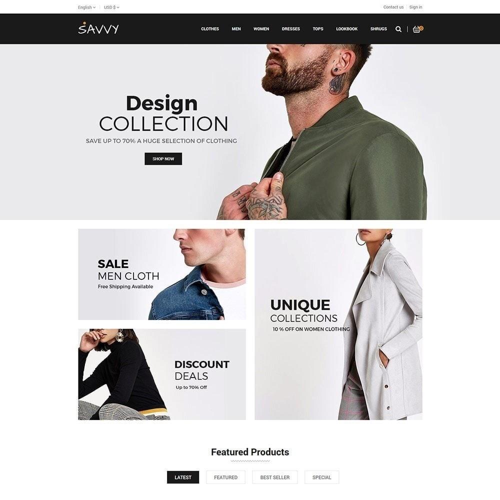 theme - Mode & Schoenen - Savvy Designer - Fashion Store - 3