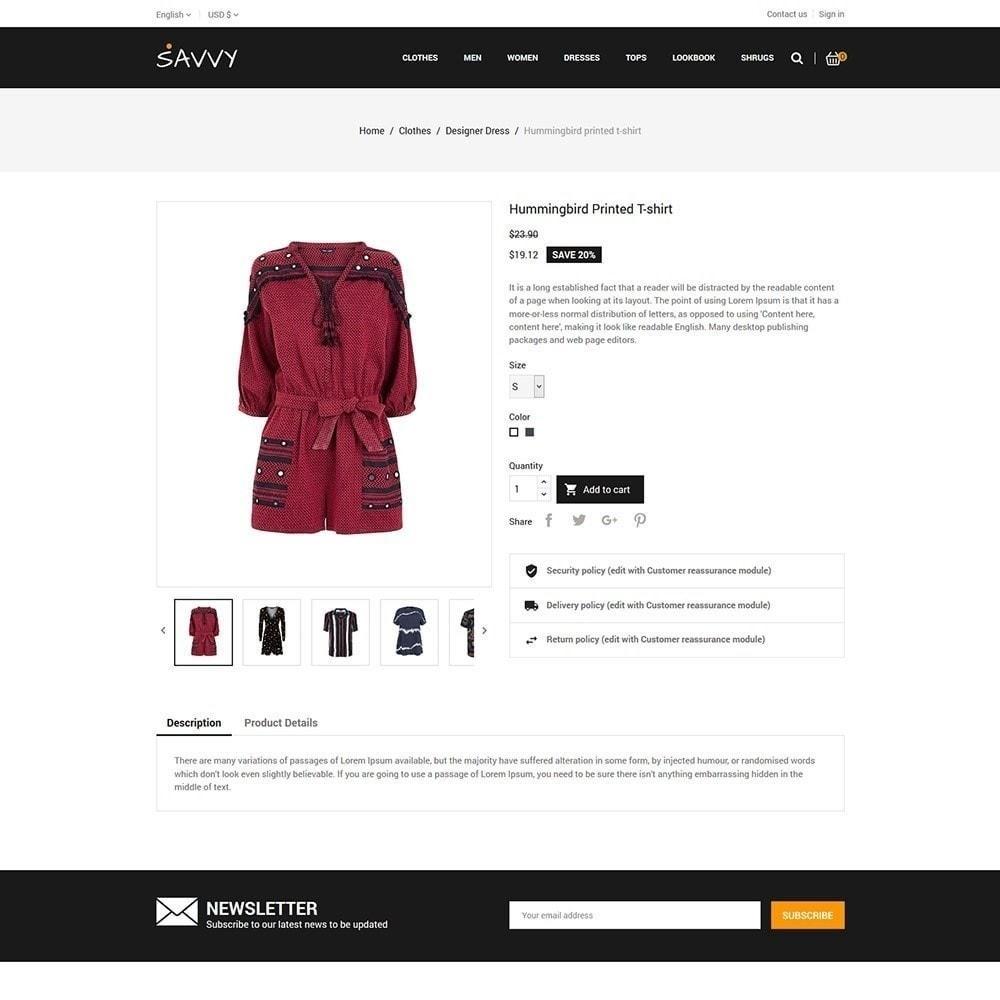 theme - Moda & Obuwie - Doświadczony projektant - Fashion Store - 6