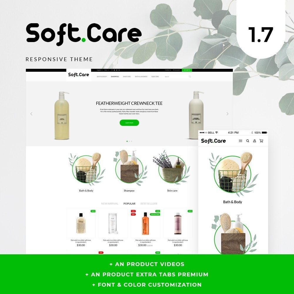 theme - Health & Beauty - Soft care Cosmetics - 1