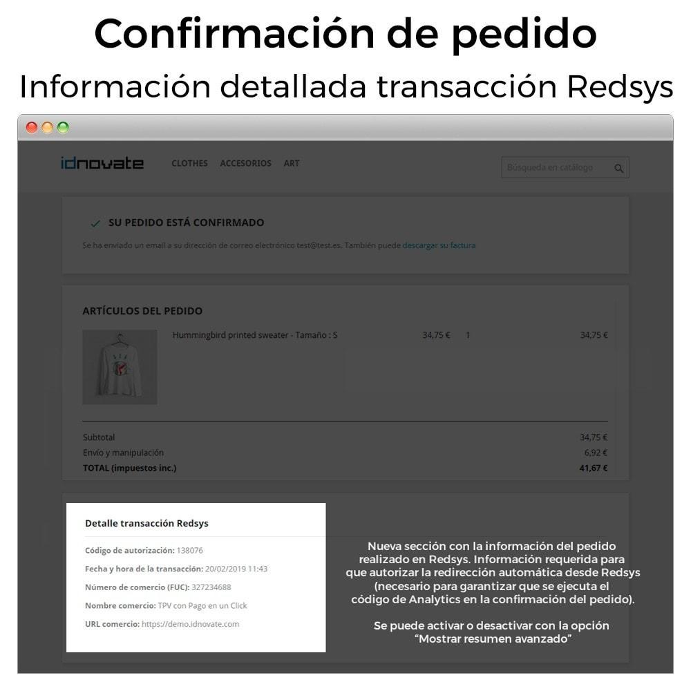 module - Pago con Tarjeta o Carteras digitales - TPV REDSYS Pago tarjeta (pago un click, devoluciones) - 17