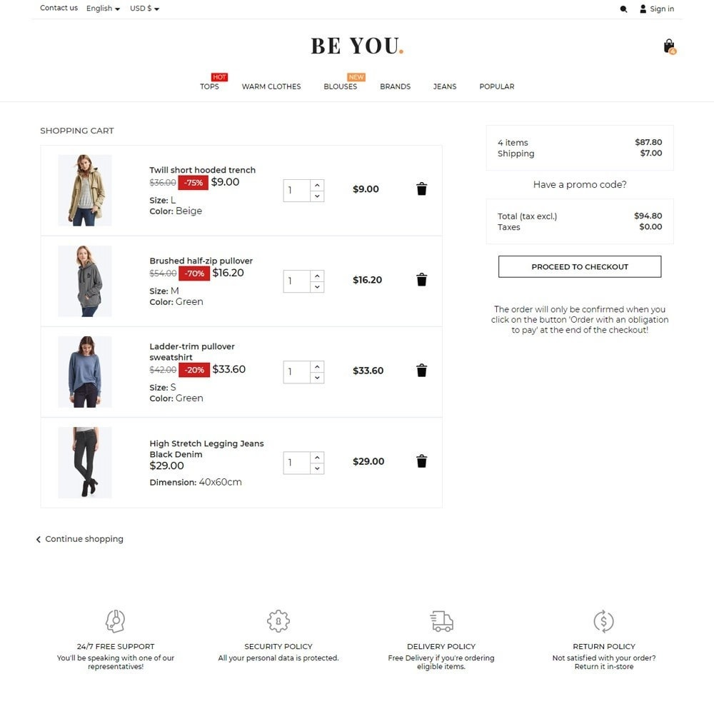 theme - Moda y Calzado - Be You Fashion Store - 7