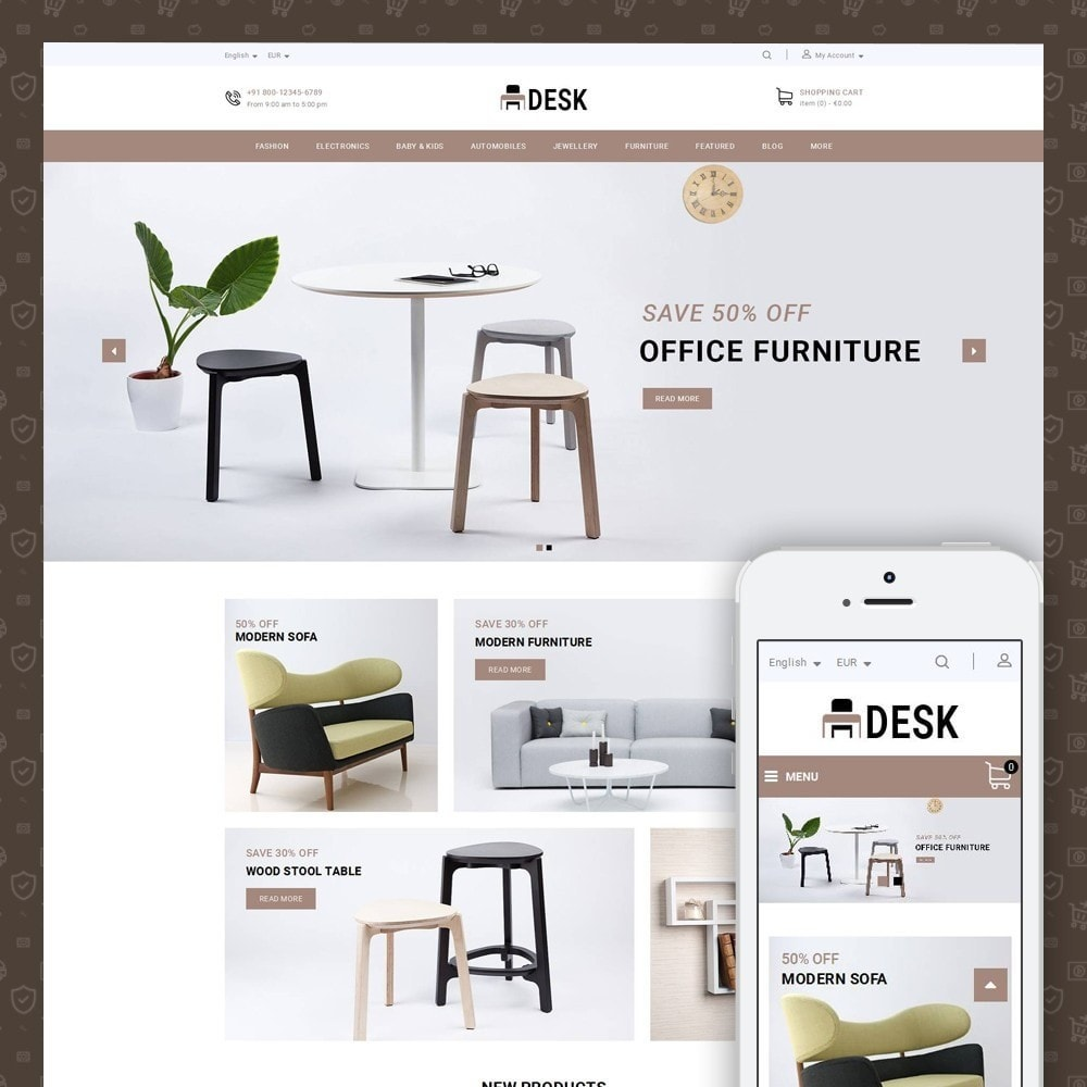 theme - Huis & Buitenleven - Desk - Furniture Store - 1