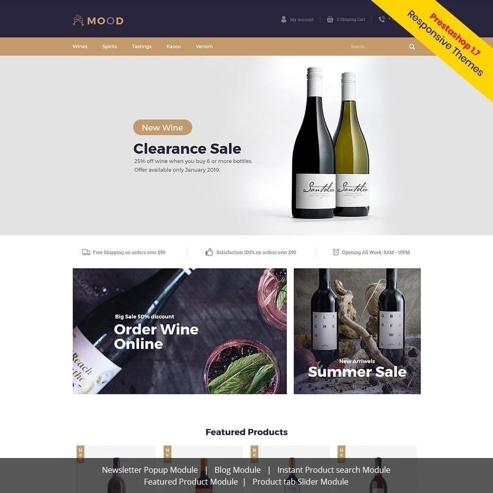 theme - Napoje & Wyroby tytoniowe - Mood Wine - Drink Store - 2