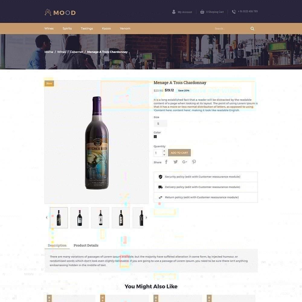 theme - Напитки и с сигареты - Mood Wine - Магазин напитков - 6
