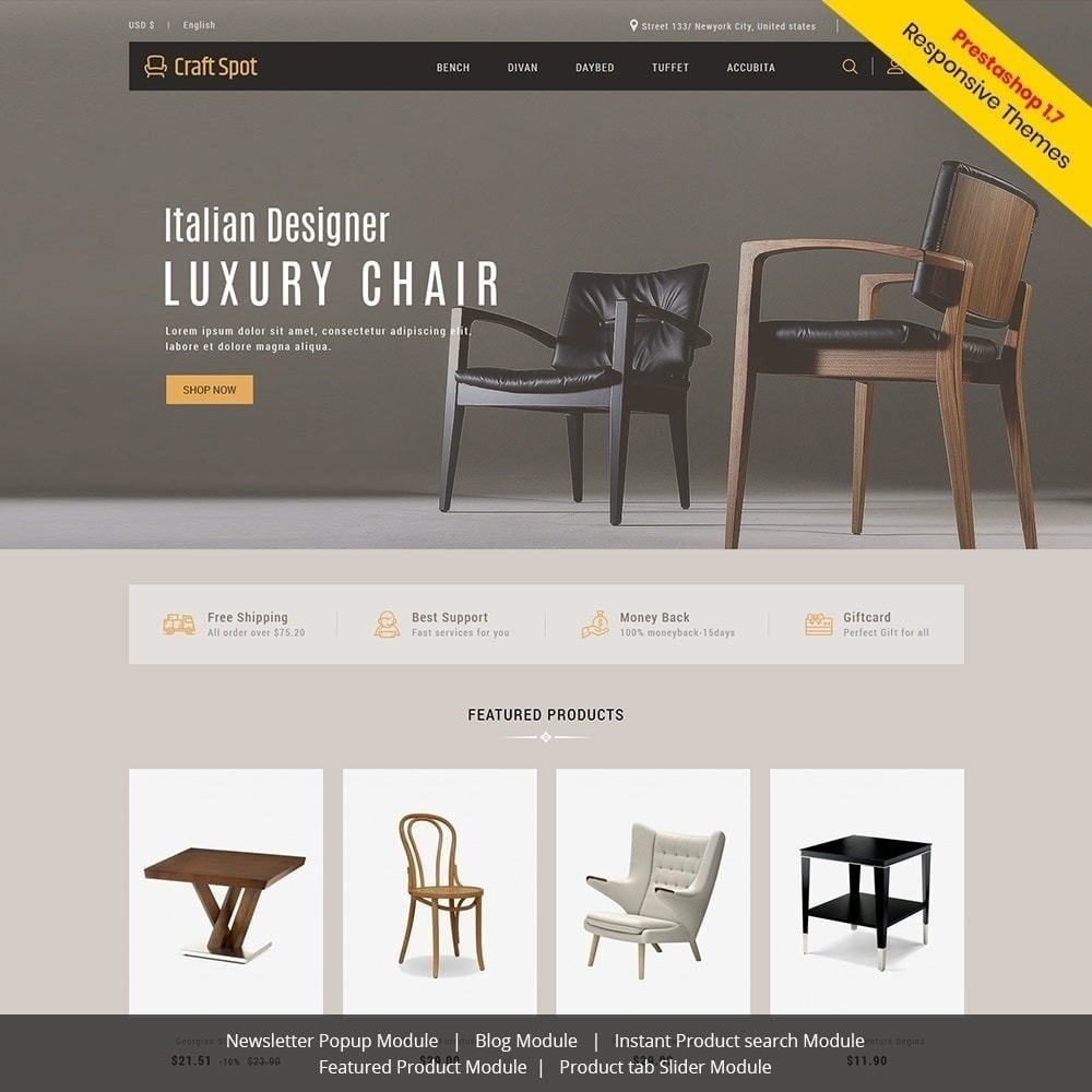 theme - Maison & Jardin - Meubles d'artisanat - magasin en bois - 2