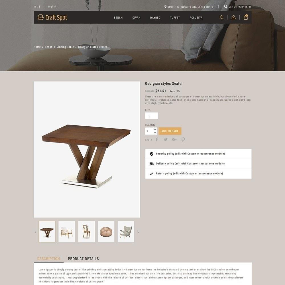 theme - Hogar y Jardín - Muebles artesanales - Tienda de madera - 6