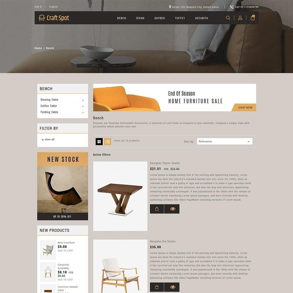 theme - Huis & Buitenleven - Craft Furniture - Houten winkel - 5