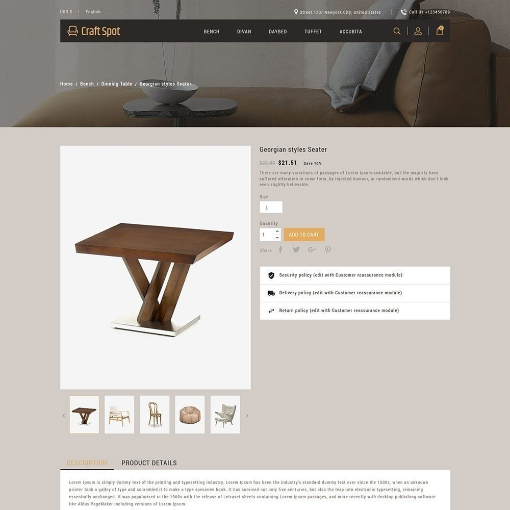 theme - Huis & Buitenleven - Craft Furniture - Houten winkel - 6