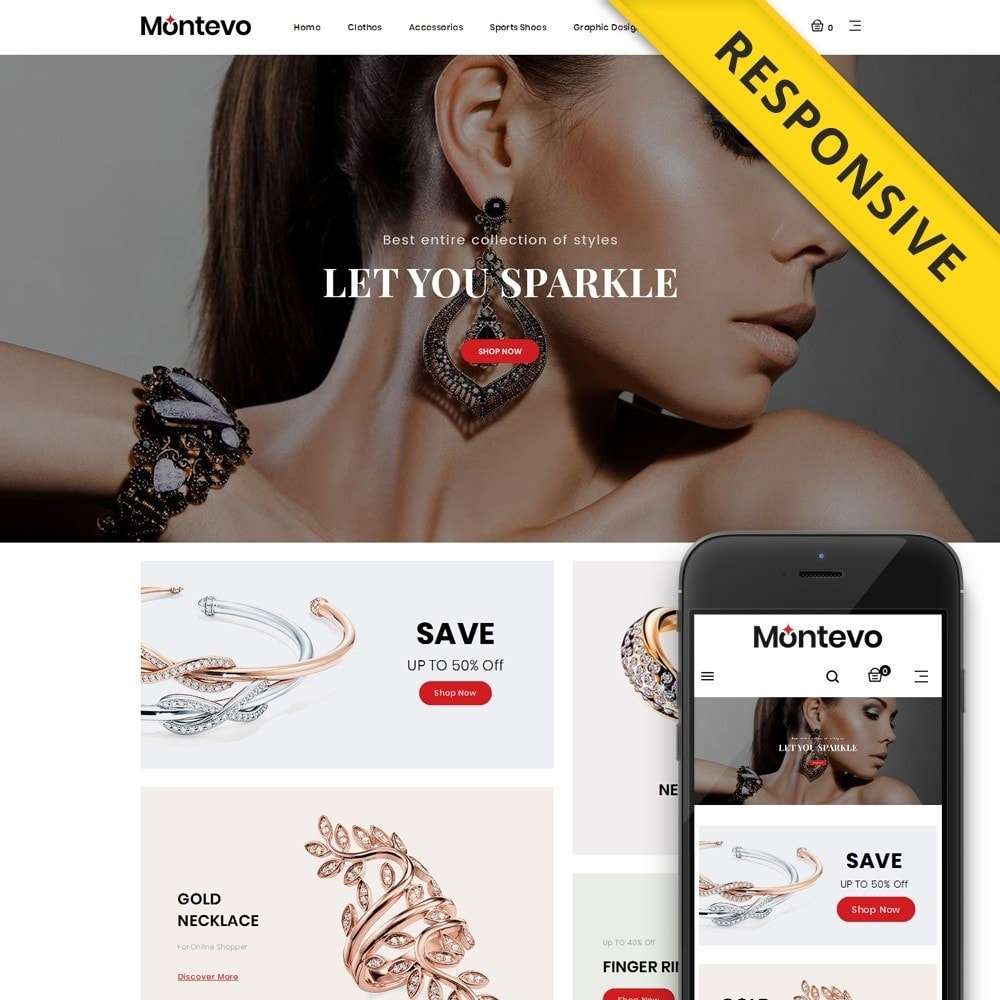 theme - Jewelry & Accessories - Montevo - Jewelry Store - 1