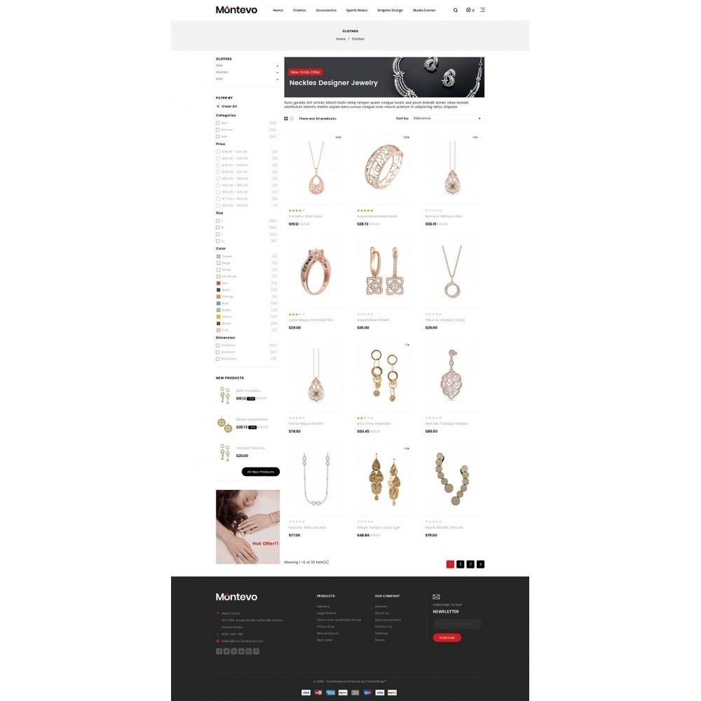 theme - Ювелирные изделия и Аксессуары - Montevo - Jewelry Store - 3