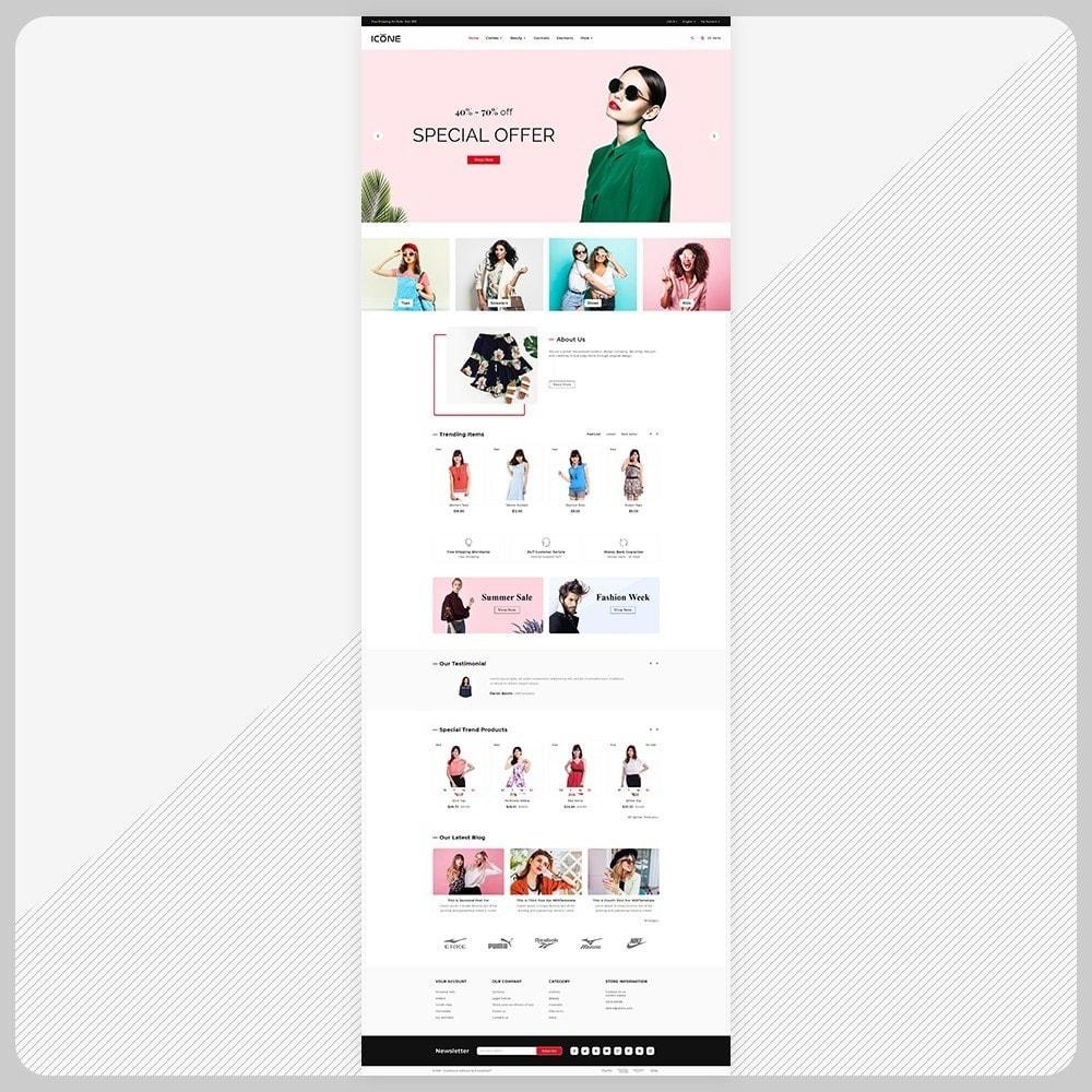 theme - Fashion & Shoes - Moda Icone -  Fashion Big Mall - 2