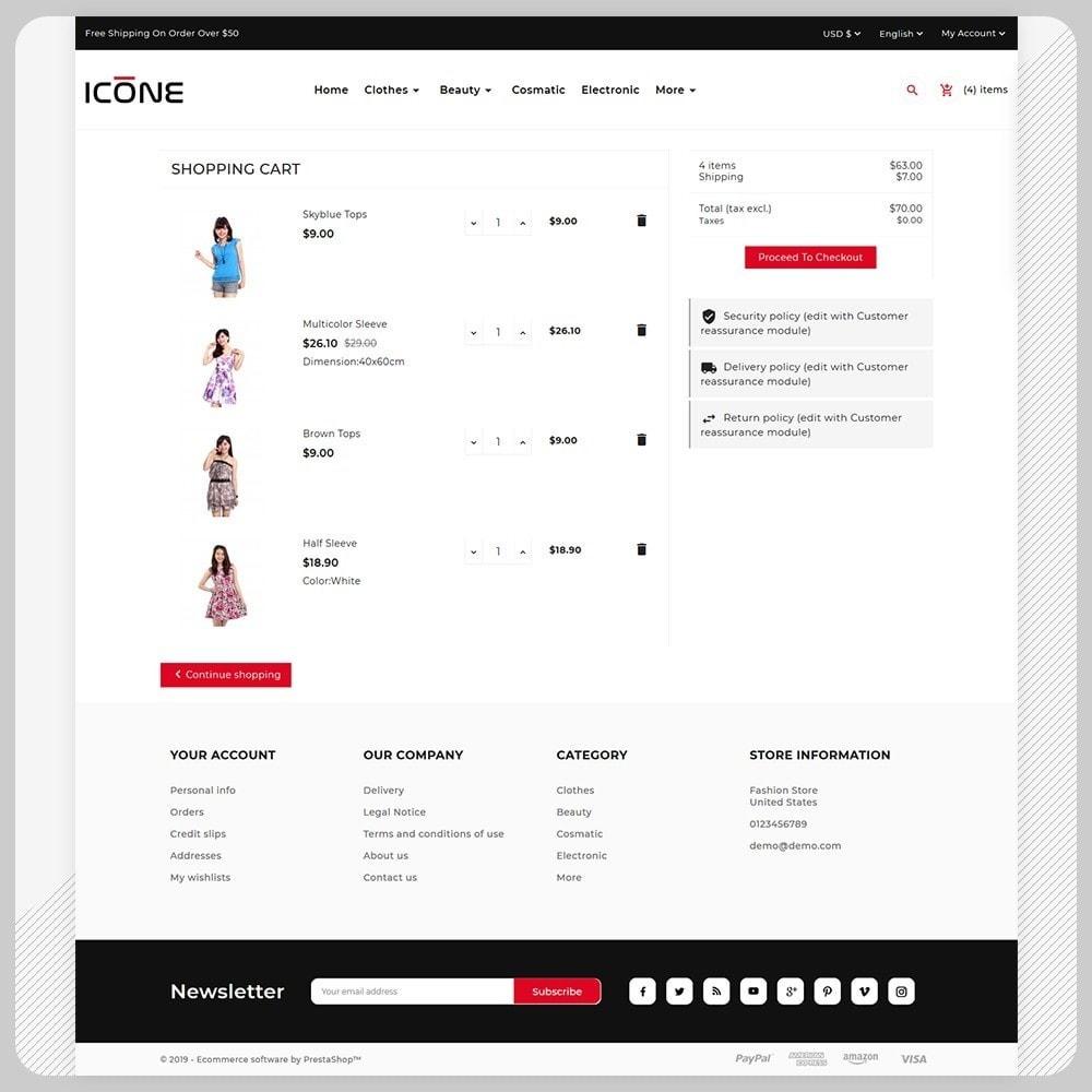 theme - Fashion & Shoes - Moda Icone -  Fashion Big Mall - 5