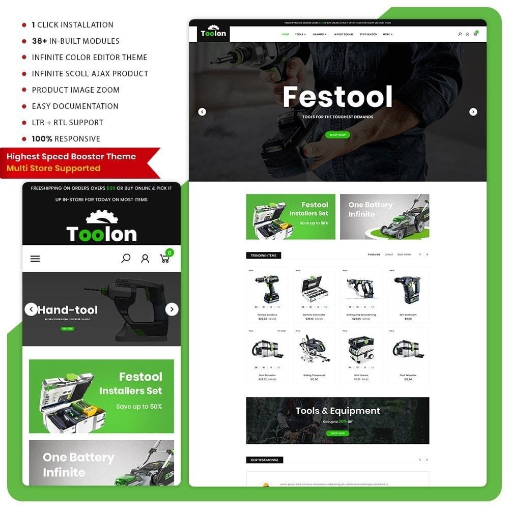 theme - Automotive & Cars - Toolen Tools Mega Mall - 1