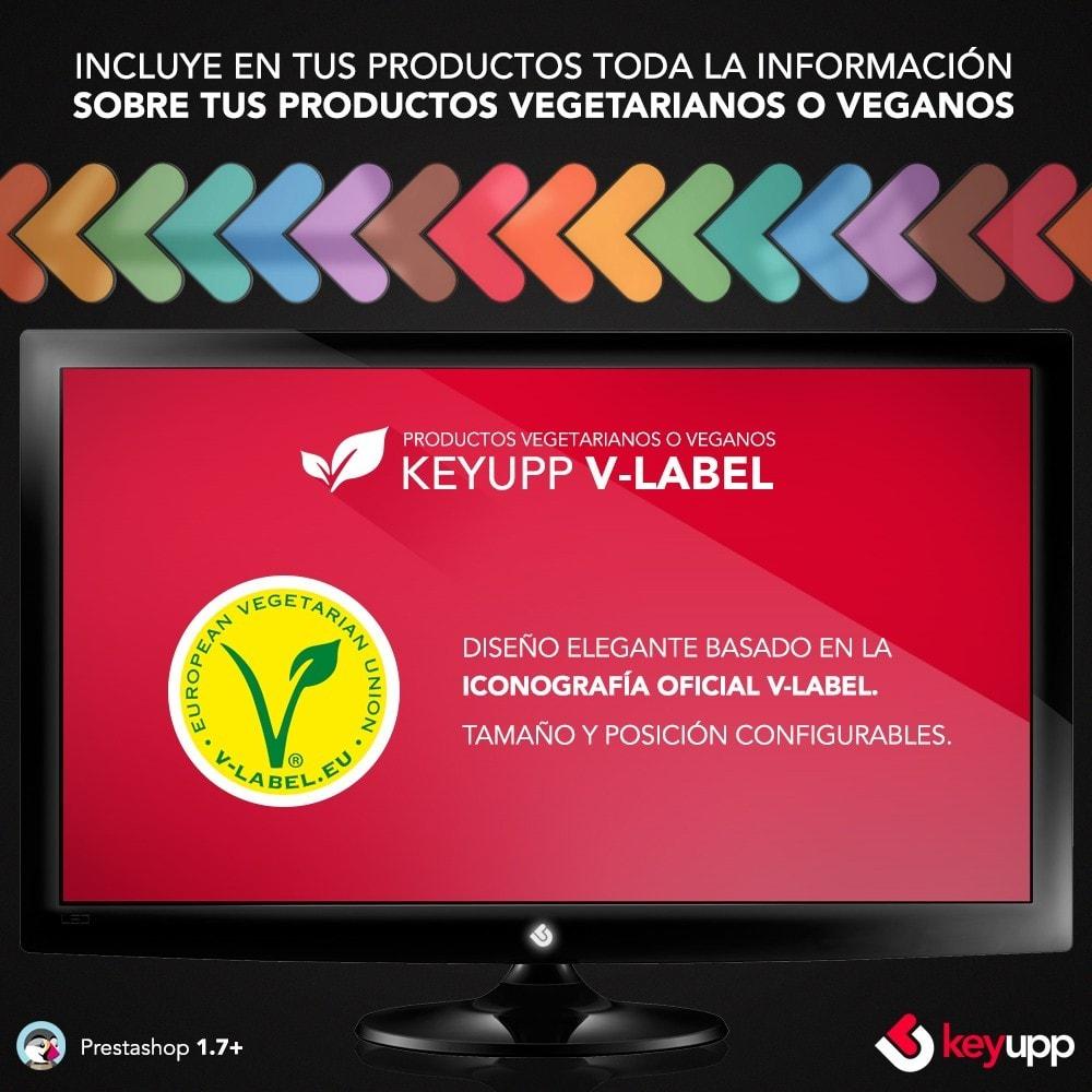 module - Gastronomía y Restaurantes - Información para tus productos veganos (incluye Vlabel) - 4