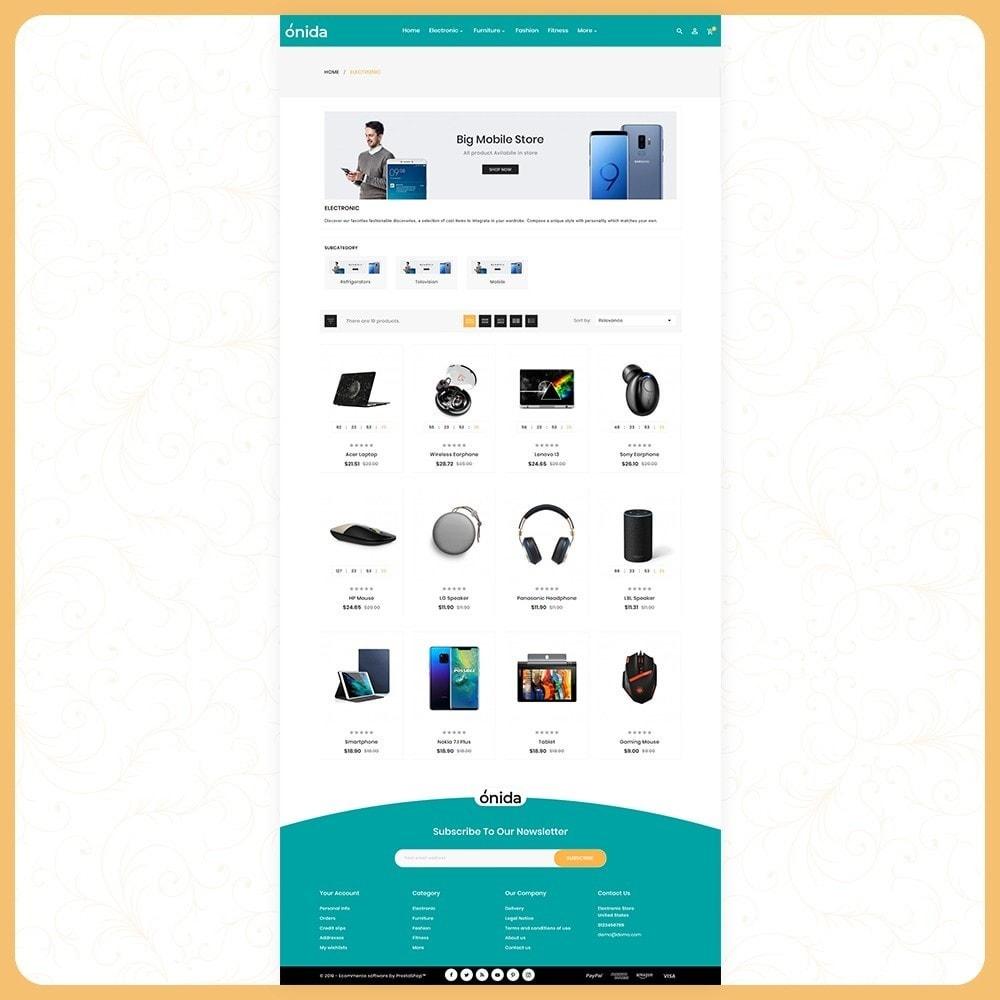 theme - Electronique & High Tech - Elettro Onida - Elecetroni Store - 3