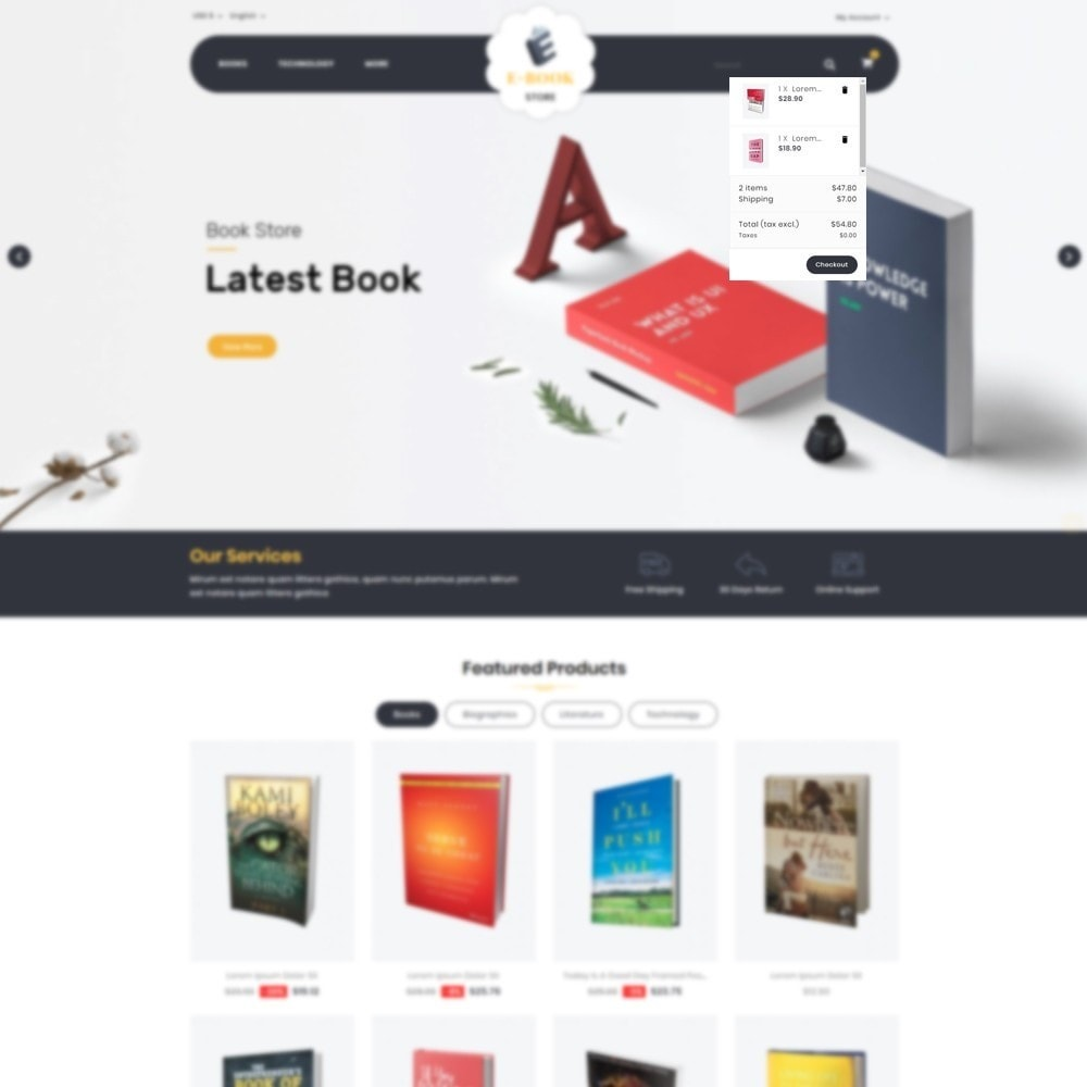 theme - Sports, Activities & Travel - E-Book Store - 6