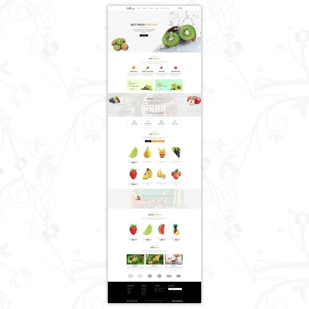 theme - Lebensmittel & Restaurants - Fresh Organic Store - 2