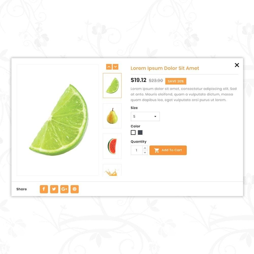 theme - Lebensmittel & Restaurants - Fresh Organic Store - 8