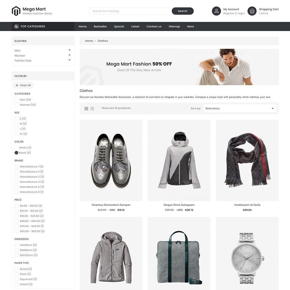 theme - Moda & Obuwie - MegaMart Fashion Store - 3