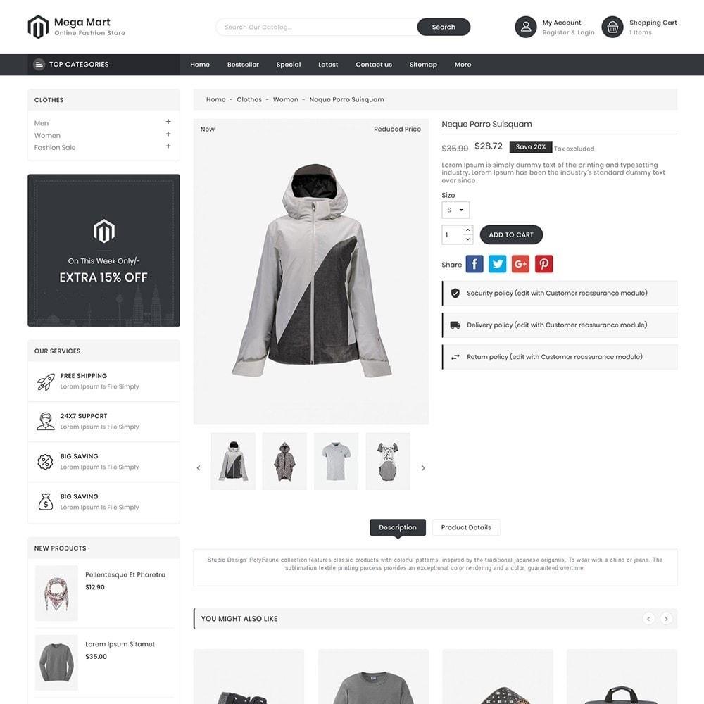 theme - Moda & Obuwie - MegaMart Fashion Store - 5
