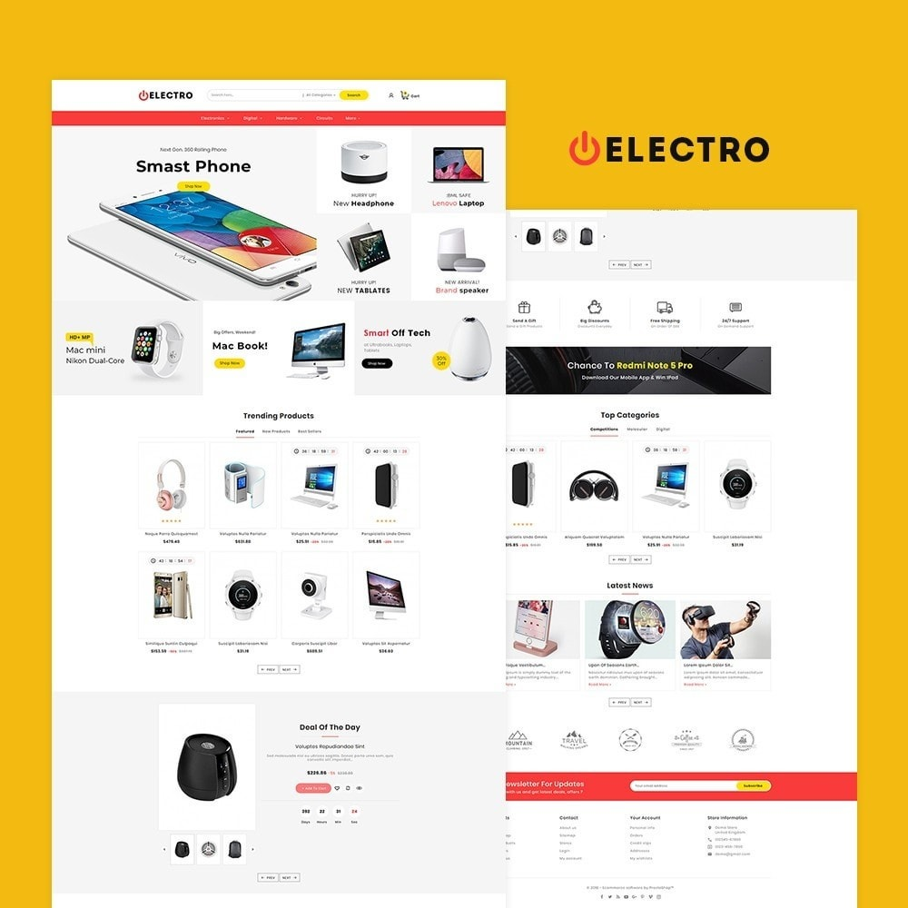 theme - Eletrônicos & High Tech - Electro Mega Appliances Shop - 2