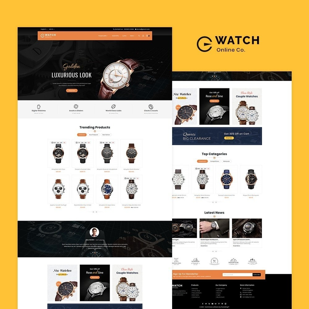 theme - Schmuck & Accesoires - Watch & Imitation Shop - 2