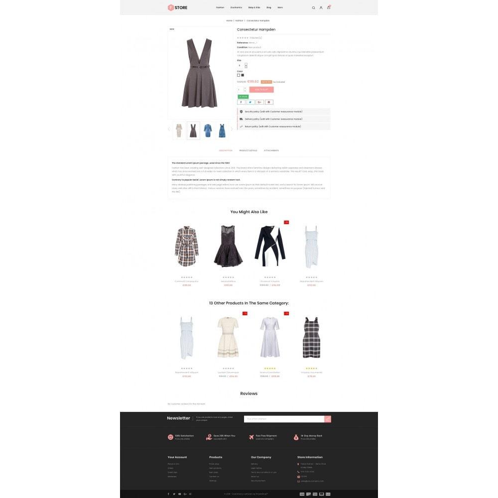 theme - Fashion & Shoes - FStroe - Stylish Fashion - 5
