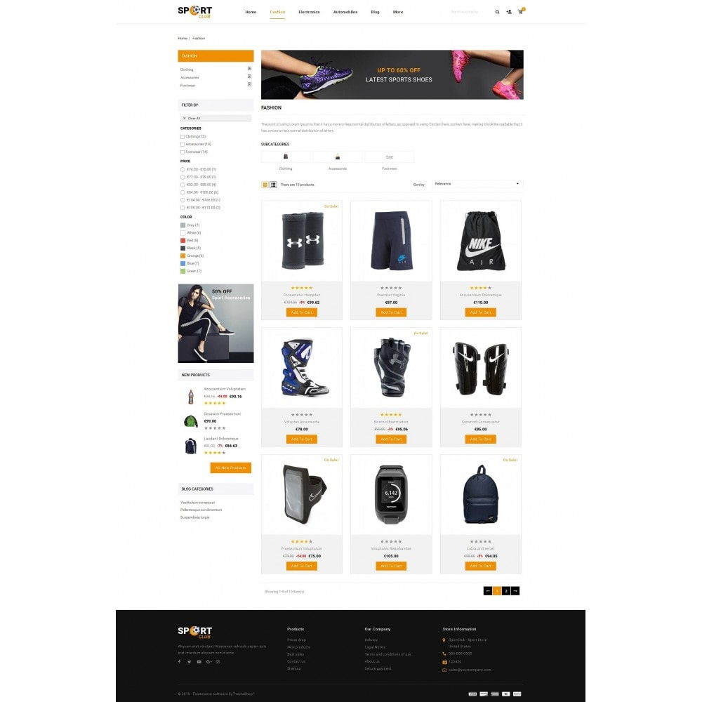 theme - Sports, Activities & Travel - Sport Club - Accessories Store - 3