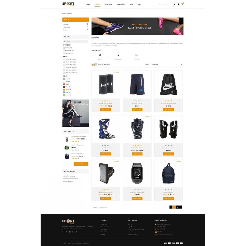 theme - Sport, Aktivitäten & Reise - Sport Club - Accessories Store - 3