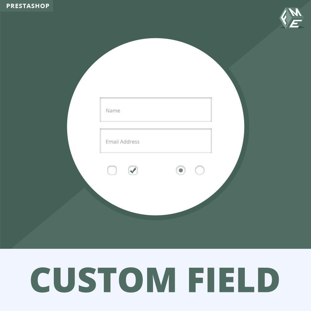 module - Cadastro e Processo de Pedido - Custom Fields, Add Extra Fields to Checkout | Order - 1
