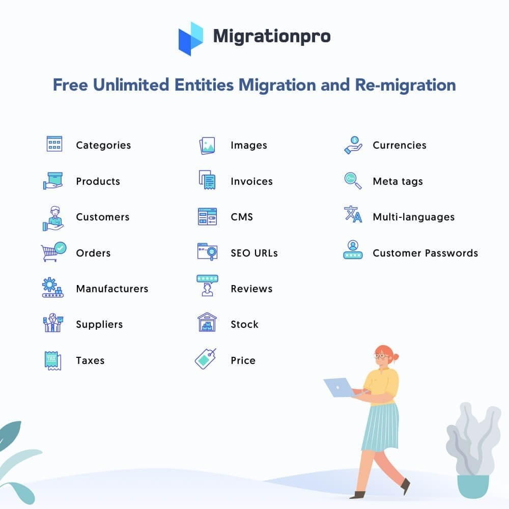 module - Data migration & Backup - MigrationPro: PrestaShop Upgrade and Migrate Tool - 2