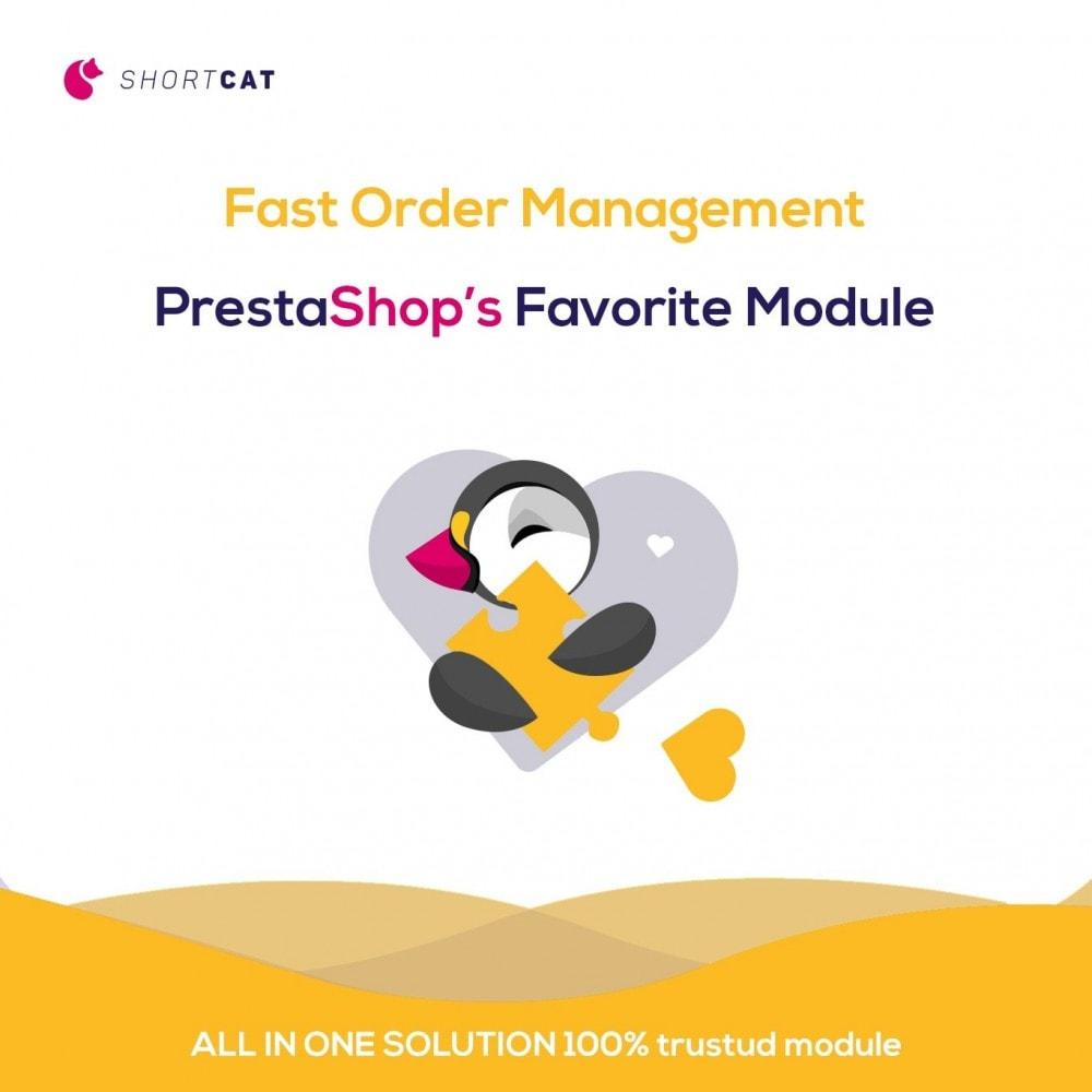 module - Gestion des Commandes - Order Management: Search, Actions, Fields, Update - 1