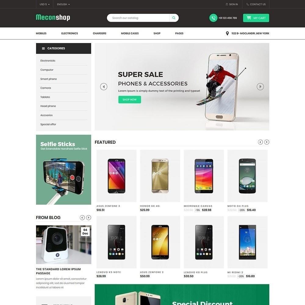 theme - Electrónica e High Tech - Mecon Mobile - Tienda de electrónica - 3