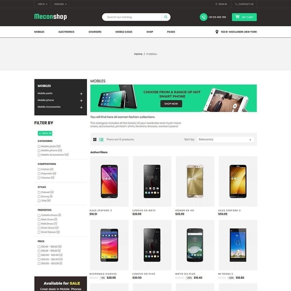 theme - Elektronik & High Tech - Mecon Mobile - Elektrogeschäft - 3