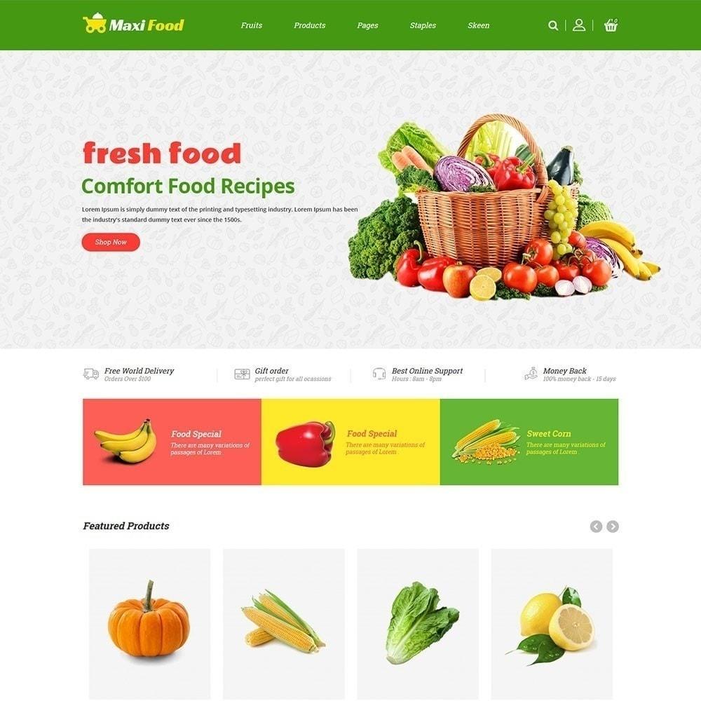 theme - Alimentos & Restaurantes - Maxi Food Fruit - Loja de Legumes - 2