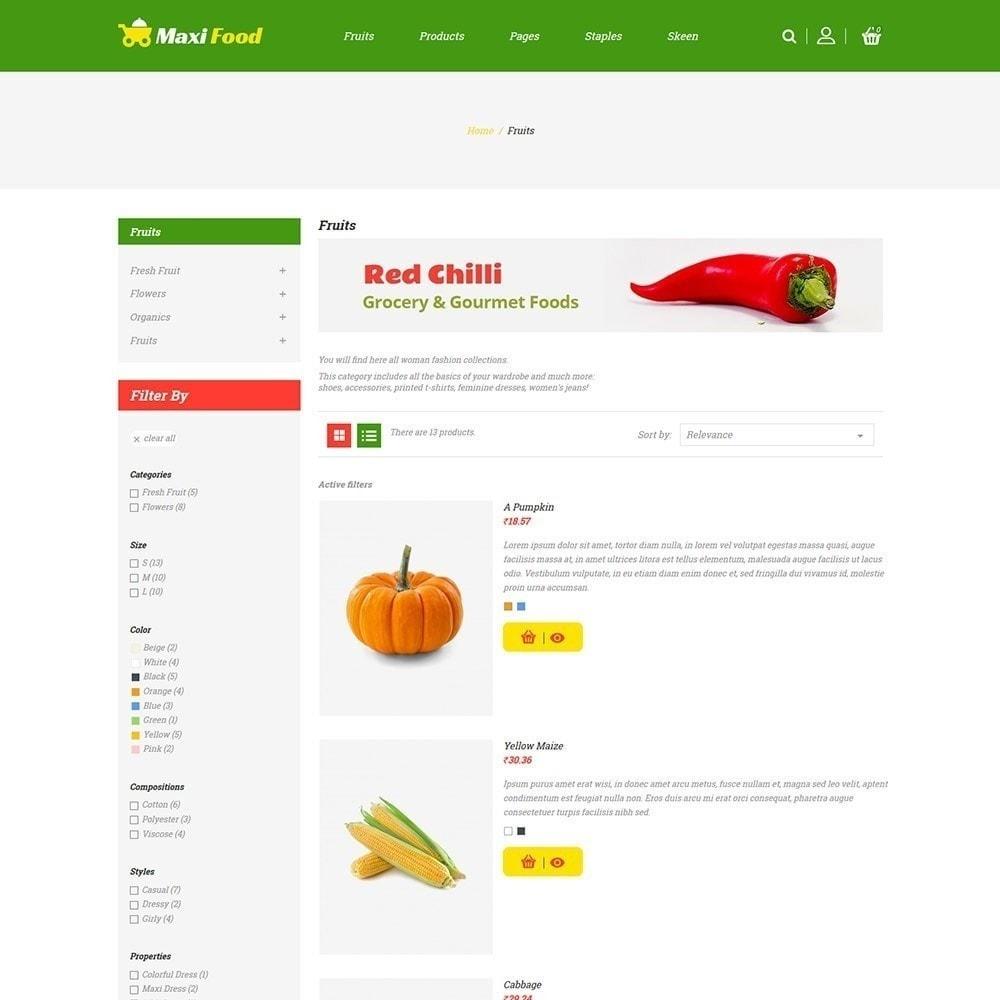 theme - Alimentos & Restaurantes - Maxi Food Fruit - Loja de Legumes - 3