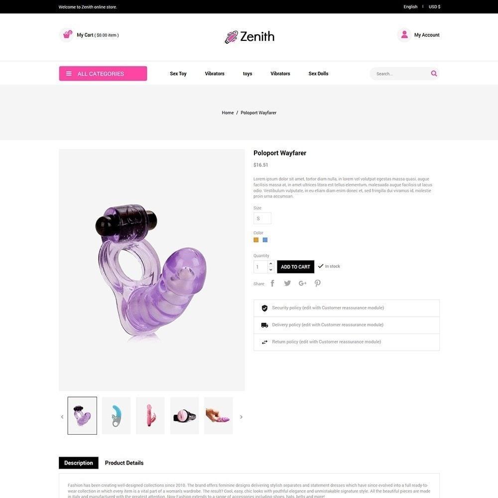 theme - Lingerie & Erwachsene - Zenith Lingerie - Sex Store für Erwachsene - 6