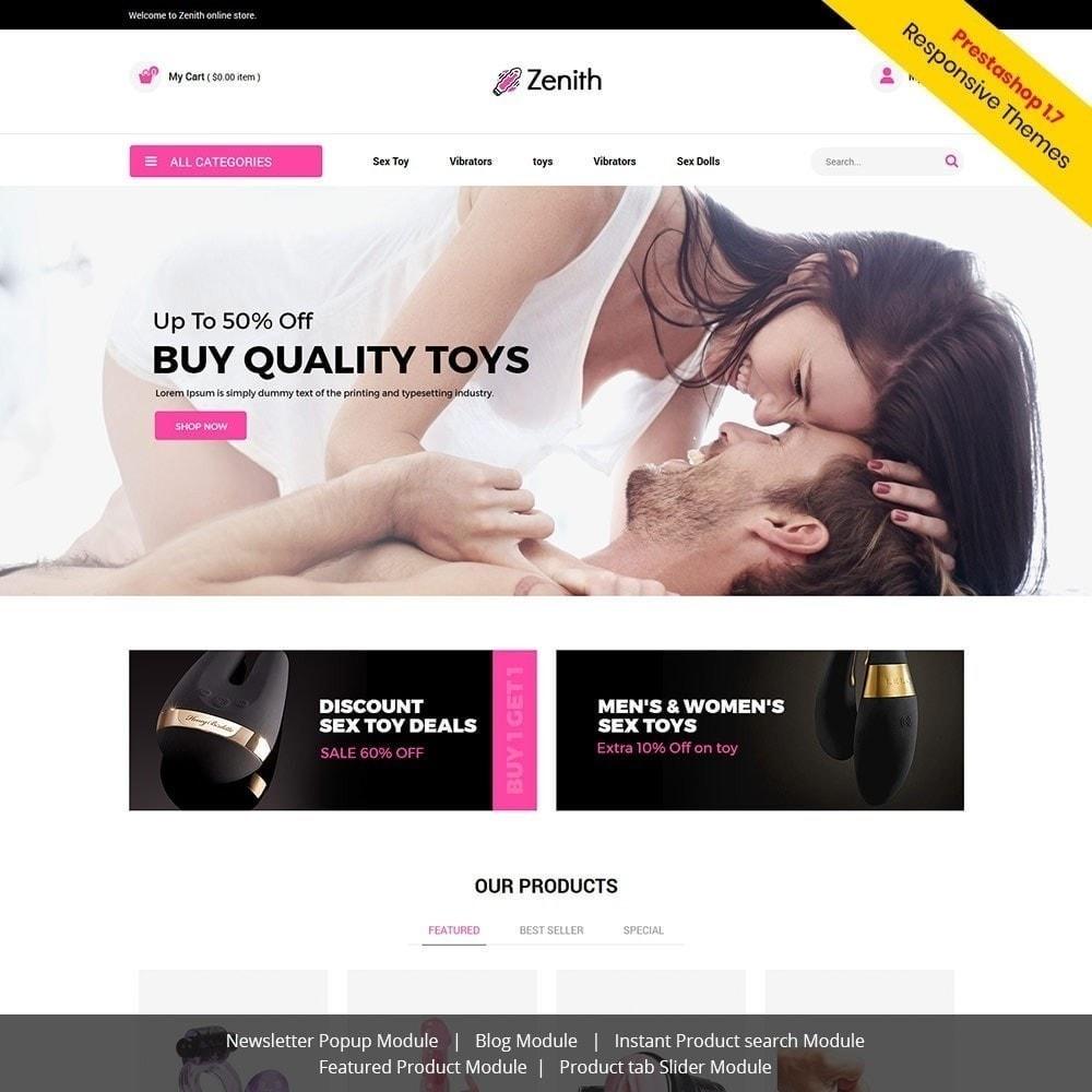 theme - Lingerie & Adulti - Zenith Lingerie - Adult Sex Store - 2