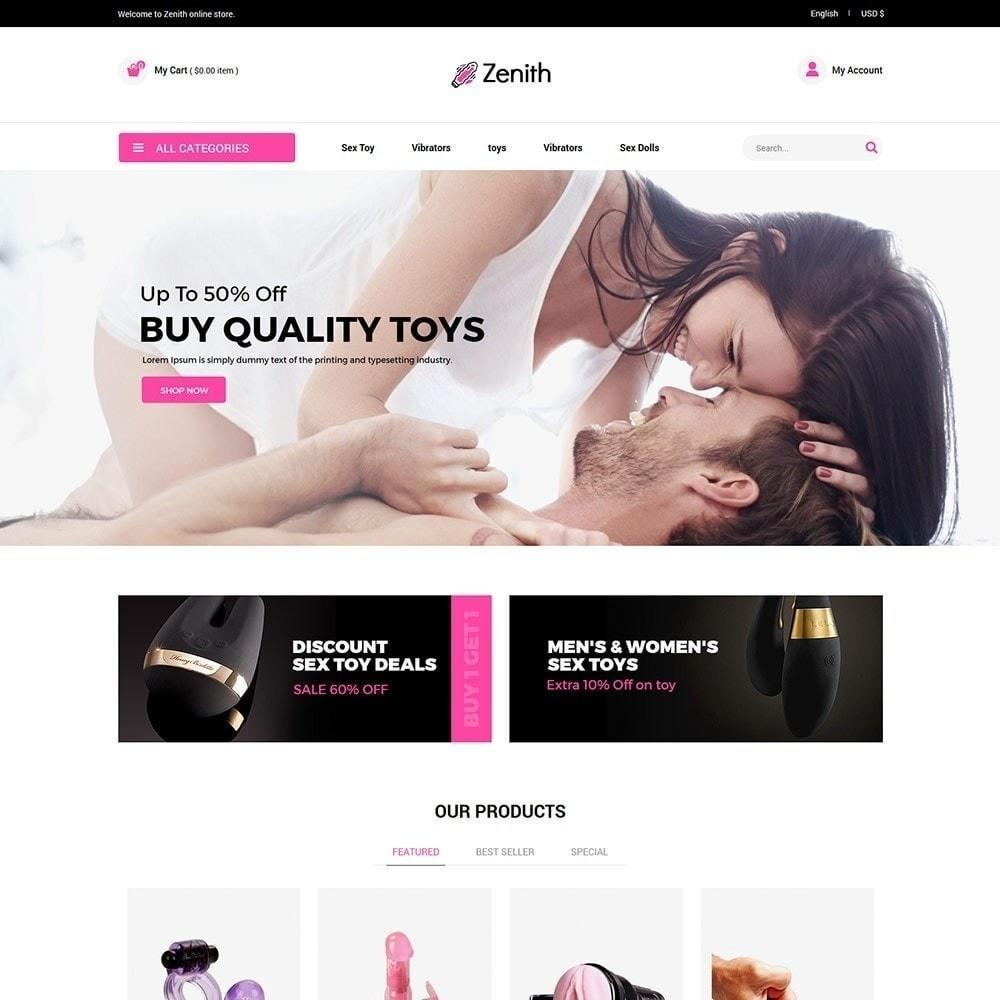 theme - Нижнее белье и товары для взрослых - Zenith Lingerie - Секс-шоп для взрослых - 2