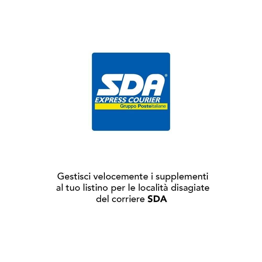 module - Spese di Spedizione - SDA - 1