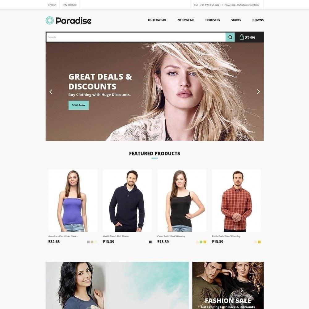 theme - Mode & Schoenen - Paradise Fashion - Apparels Store - 2