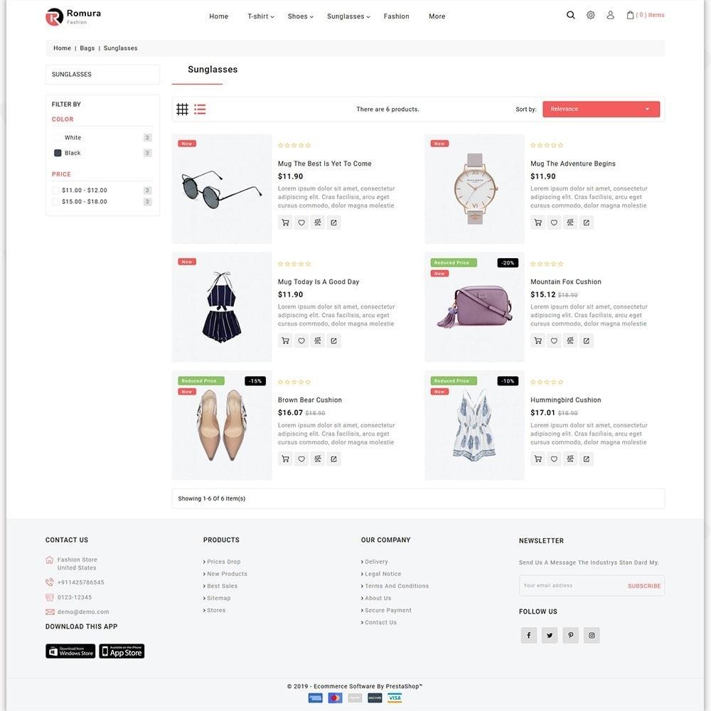 theme - Fashion & Shoes - Romura - The Fashion Store - 3