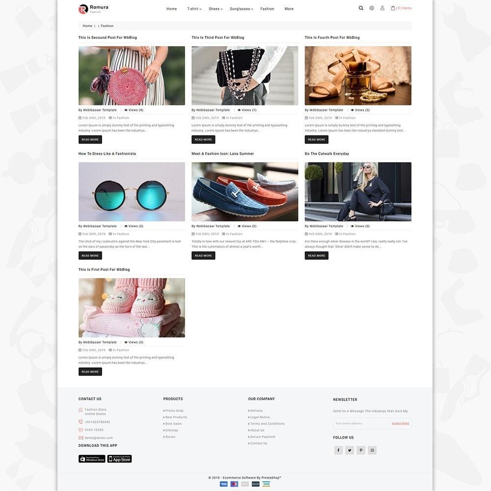 theme - Fashion & Shoes - Romura - The Fashion Store - 5
